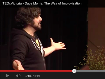 TEDx talk - The Way of Improvisation